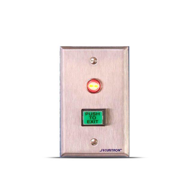 Pulsador de salida rectangular 1″ x 3/4″