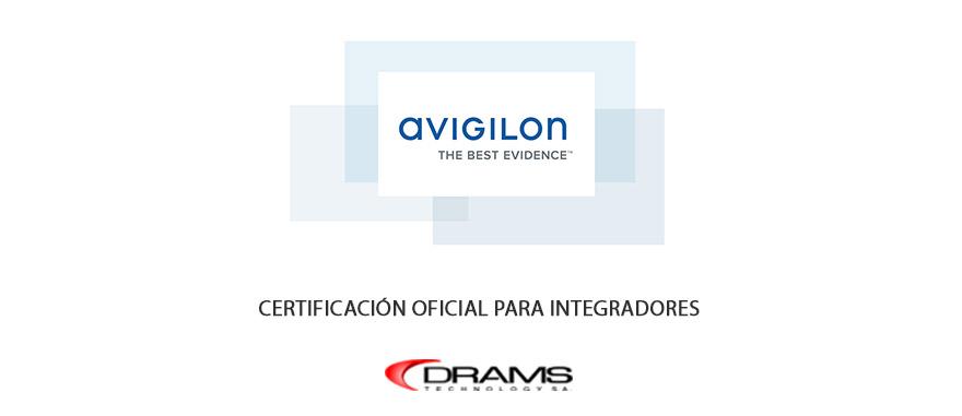 certificación avigilon